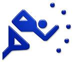 moderner fünfkampf pentathlon symbol