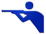 schießen shooting symbol