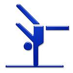 turnen gymnastics symbol