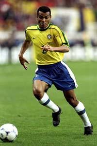 Cafu of Brazil