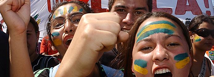 Brasilianerinnen_gemaltes Gesicht3