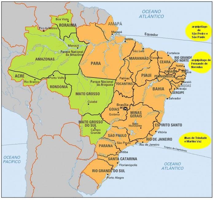 brasilien zeitzonen