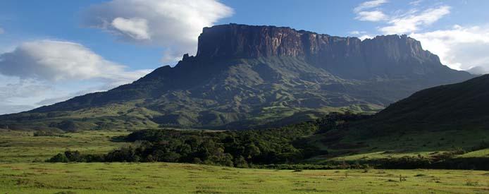 Tepuy du mont Roraima au venezuela