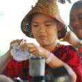 Rio+20: Indio-Mädchen sorgen mit Protest für Aufmerksamkeit