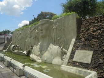 Ungepflegtes Denkmal in Boa Vista