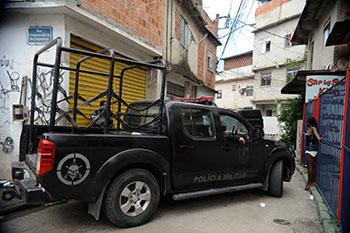 Instalação de UPP na comunidade do Cajú