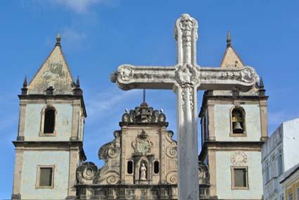 Kirche São Francisco in Salvador