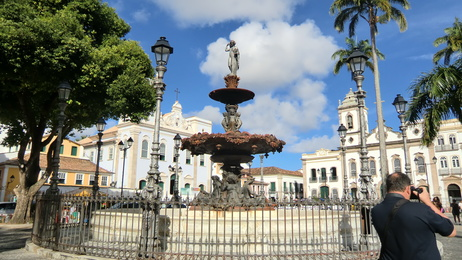 Brunnen in Salvador de Bahia 1