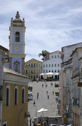 Salvador, quartiere del Pelourinho