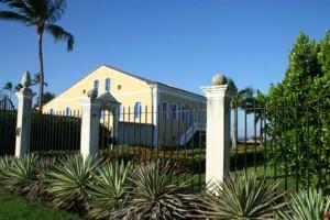 Alte Villa im Kolonialstil