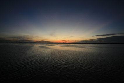 Amanhecer na Amazônia