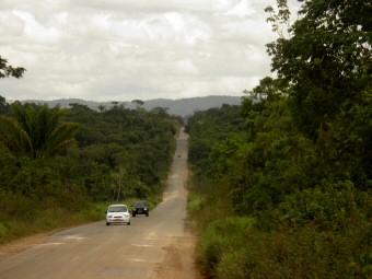 Die BR-174 zwischen Boa Vista und Pacaraima