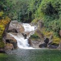 Wasserfall Distrikt Mucuri
