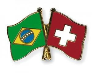 Fahnen-Pins-Brasilien-Schweiz