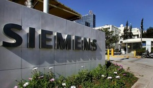 File photo dated 19 February 2009 shows a view of Siemens Hellas headquarters located in the north Athens district