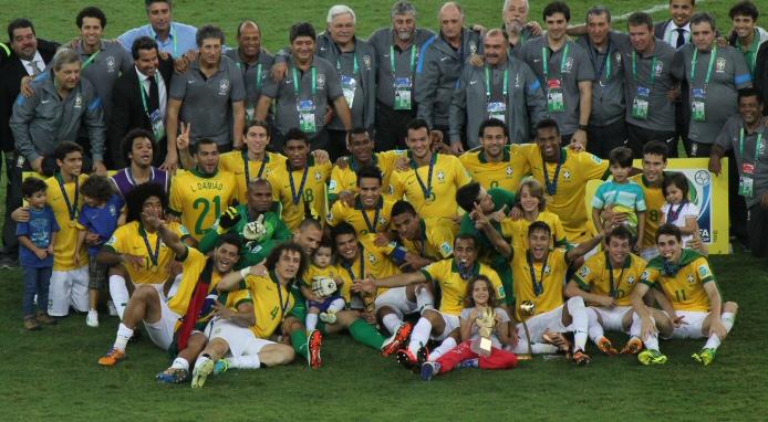 Wird Brasilien bei der WM 2014 genauso jubeln können wir beim Confed-Cup 2013?