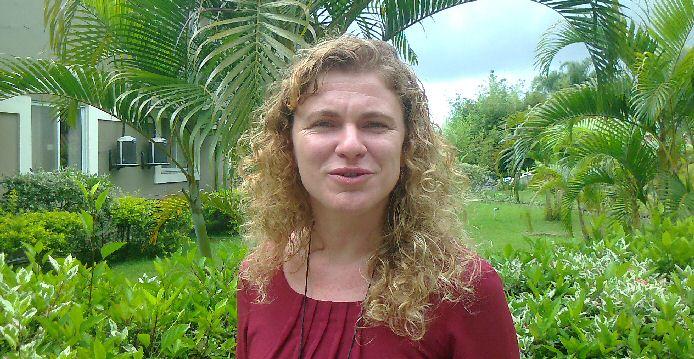 Ingrid Prem ist Leiterin des Bereiches Nachhaltige Entwicklung und Schutz der tropischen Wälder bei der Gesellschaft für internationale Zusammenarbeit GIZ (Foto: Gabriela Bergmaier Lopes)