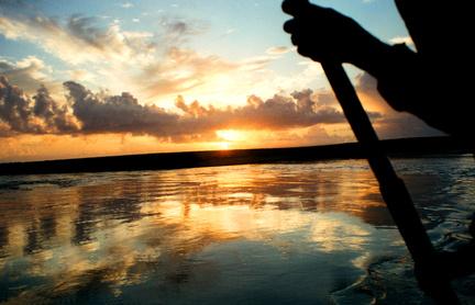 levée de soleil sur troncoso