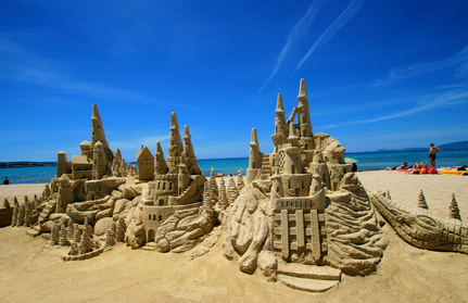 Fantasia on the beach