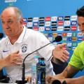 Felipão und Thiago Silva geben die grössere Spannung vor dem heutigen Achtelfinale zu