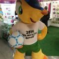 Während WM-Maskottchen Fuleco zum Star wird, ist das Kugelgürteltier weiterhin bedroht