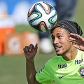 Der verletzte Neymar kehrte zusammen mit der Seleção nach Rio zurück