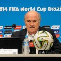 Der Präsident der FIFA, Joseph Blatter gibt der WM in Brasilien die Note 9,25 – 0,25 mehr als der WM in Südafrika