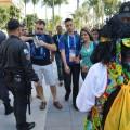 Großeinsatz von 177.000 Polizisten sorgt für zufriedene Touristen