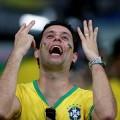Fussball-Fans ganz Brasiliens bedauern die Niederlage der Seleção