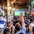 Feiernde Fussballfans sorgen für Einnahmehoch in Bars und Kneipen