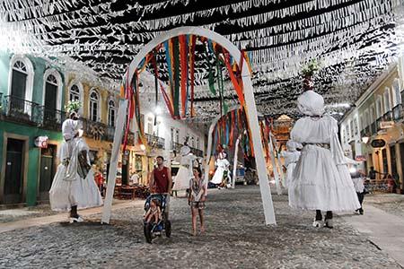 Decoração do Carnaval 2015 no Pelourinho. Foto: Camila Souza/GOVBA