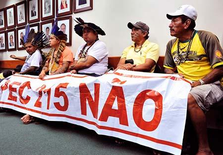 Reunião da comissão especial da Câmara dos Deputados sobre a Proposta de Emenda à Constituição das Terras Indígenas (PEC215/00) (Gabriela Korossy / Câmara dos Deputados)