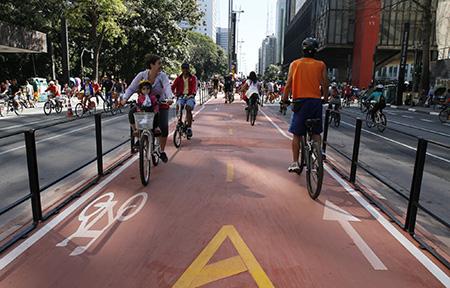 Radweg Paulista_Leon Rodrigues  SECOM PMSP