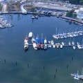 Olympische Testläufe finden in verschmutzten Wasser statt