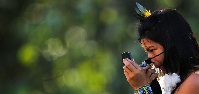 27/07/2015 - Festa, brincadeiras, cultura e preservação permeiam os cinco dias e noites do Mariri - A celebração da tradição indígena encanta os participantes e fortalece ainda mais o sentimento de preservação da natureza. (Foto: Sérgio Vale/Secom)