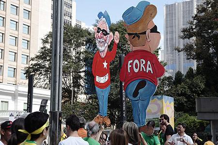 São Paulo- SP- Brasil- 16/08/2015- Manifestantes contra governo da presidenta Dilma Rousseff, na Av. Paulista. Foto: Oswaldo Corneti/ Fotos Públicas