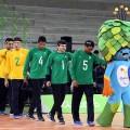 Countdown für paralympische Spiele 2016 in Rio de Janeiro feierlich eingeleitet