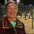 75-Jährige Indianerin Rußlands stellt Buch bei Indigenen Weltspielen vor