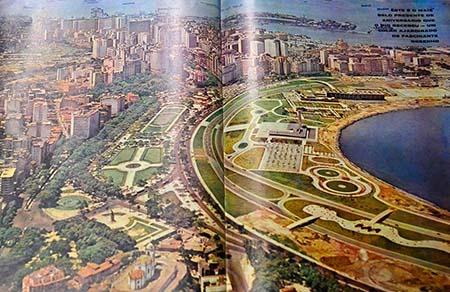 Rio de Janeiro - O Centro Cultural Correios Rio inaugura a exposição Jardim de Memórias – Parque do Flamengo 50 anos
