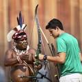 Olympiasieger und Weltmeister sprechen Indigenen Völkern ihre Hochachtung aus