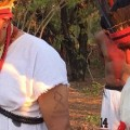 "Indios segnen Austragungsort der ersten ""Jogos Mundiais dos Povos Indígenas"""