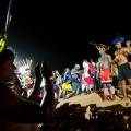 Die drei besten Lanzenwerfer - Foto: Marcelo Camargo/Agência Brasil
