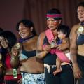 Gavião die Zweitplatzierten im Tauziehen - Foto: Marcelo Camargo/Agência Brasil