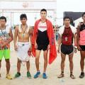Sieger 8.400-Meter-Lauf - Foto: Francisco Medeiros/ME