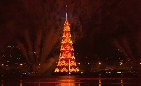 Arvore Natal Rio Handout Video TV Globo