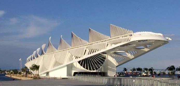 Rio de Janeiro - Museu do Amanhã, na Praça Mauá. Dedicado à ciência, o público poderá ter experiências modernas com instalações interativas, imaginando os próximos 50 anos (Cristina Índio do Brasil/Agência Brasil)
