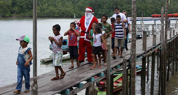 O Natal D'Água  FOTO: CLÁUDIO SANTOS/ AG. PARÁ DATA: 13.12.2014 BELÉM - PARÁ