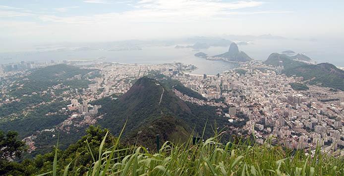 Vista Zuckerhut auf Rio