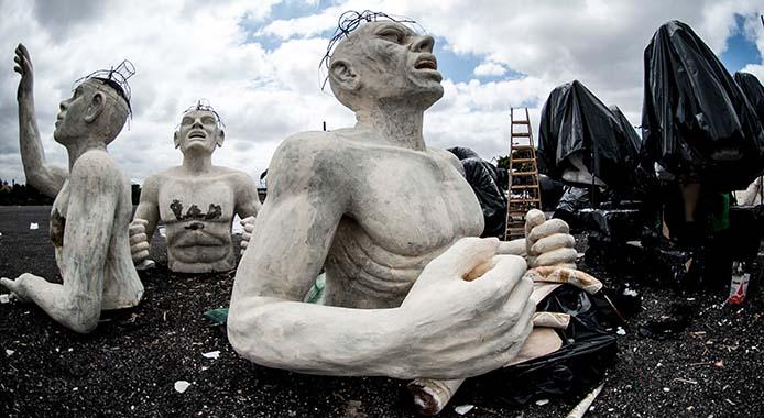 Karnevals Vorbereitungen Foto: Marcelo Camargo/ABr)