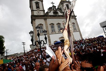 Ultima sexta-feira do ano no Bonfim Foto: Elói Corrêa/GOVBA